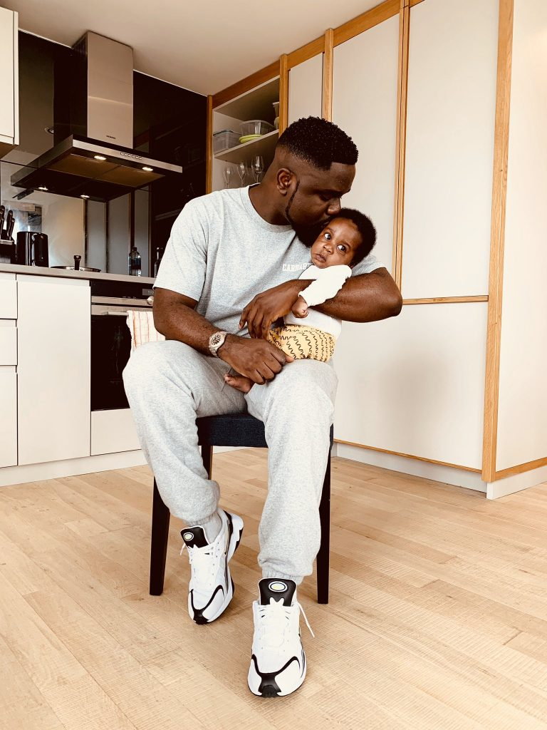 Sarkodie reveals the name of his baby son