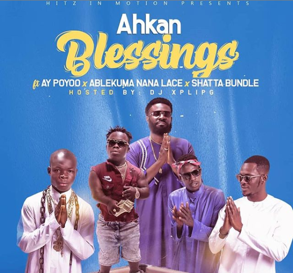 Ahkan goes the viral way with 'Blessings' - Watch