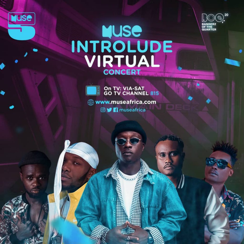 ALL SET FOR MUSEAFRICA INTROLUDE VIRTUAL CONCERT - 31st July.