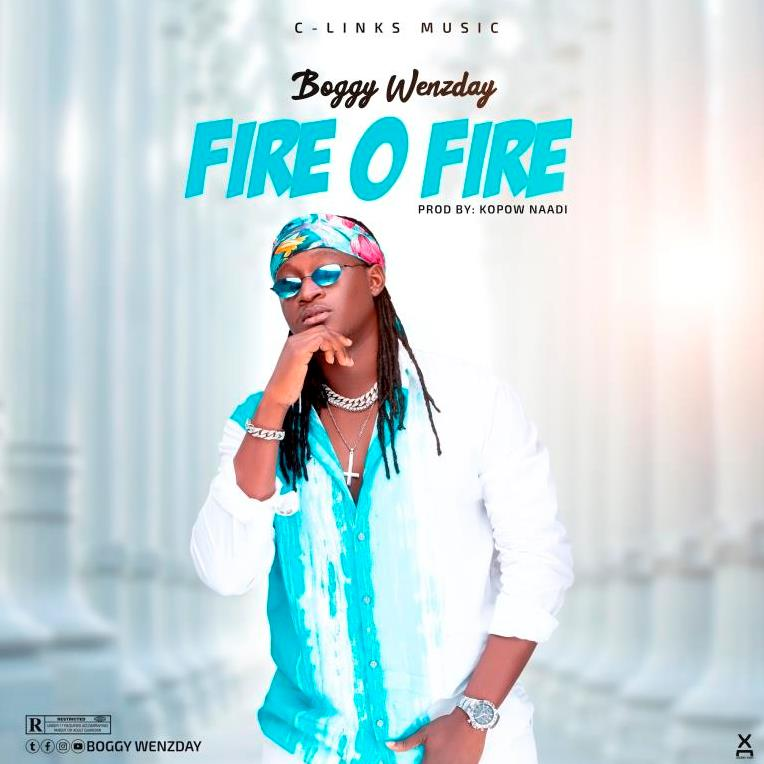 Ghanaian singer Boggy Wenzday out with Fire O Fire