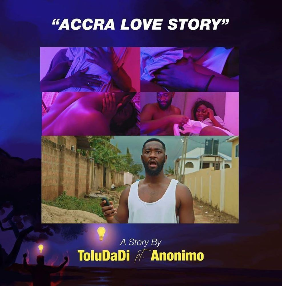 ToluDaDi gives fans a sensual visual for 'Accra Love Story'
