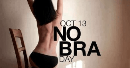 Here is how the Social Media is celebrating #NoBraDay