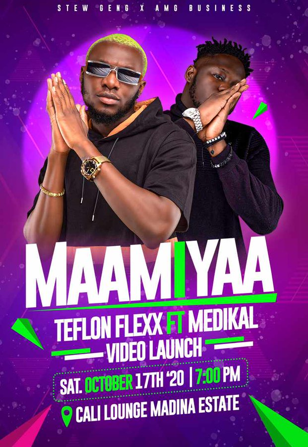 Teflon Flexx readies a new single featuring Medikal – Maamiyaa