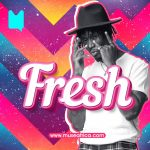 Ghanaian rapper E.L covers the Muse Fresh Playlist on Apple Music & Boomplay