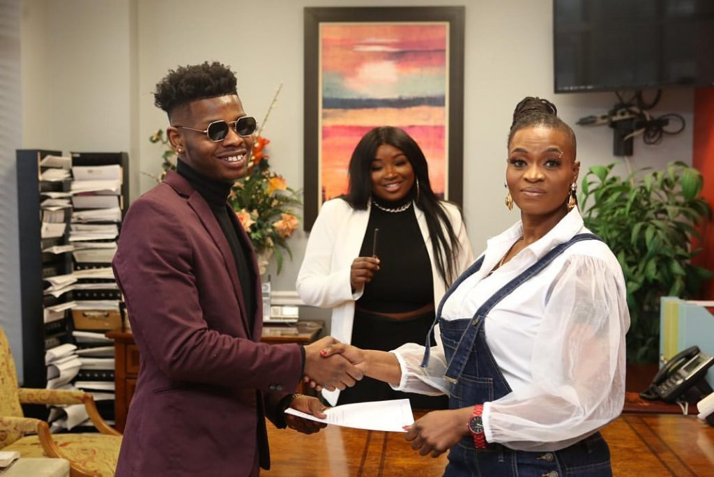 Ayisha Modi, officially named brand ambassador for Nigerian Fashion Outlet Sophie Couture