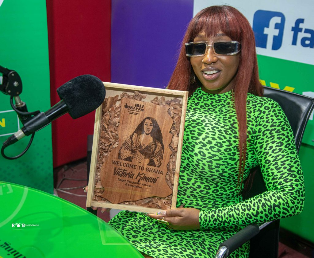Victoria Kimani talks about how consistency remains her priority in music