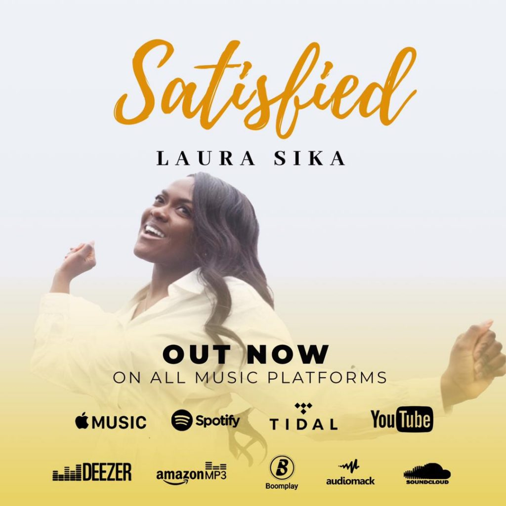 """LAURA SIKA FINALLY OUT WITH HER DEBUT SINGLE """"SATISFIED"""""""