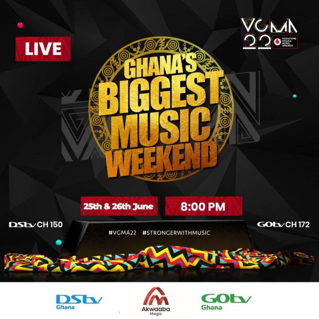 Akwaaba Magic live at the 22nd VGMAs! Here's what to expect