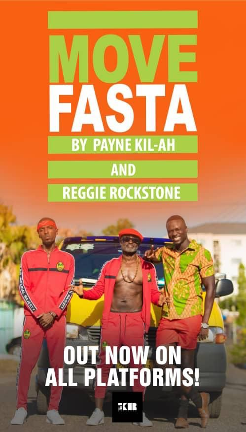 Reggie Rockstone gives us a gym anthem titled Move Fasta with Payne Khi-lah