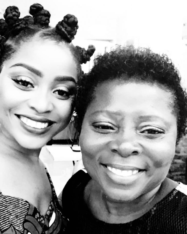 museafrica mothers day special adina thembi shares special mothers day message with her mum auntie mercy muse africa