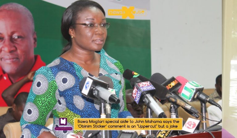 """Video: Bawa Mogtari special aide to John Mahama says the 'Obinim Sticker' comment is an """"Uppercut"""" but a joke"""