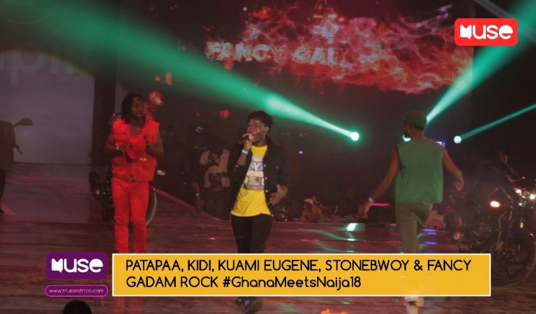 Check out exclusive #GhanaMeetsNaija18 back stage interviews with Stonebwoy, Patapaa & rest