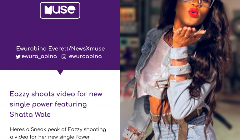 BTS: Eazzy shoots video for 'Power'.