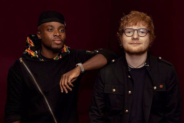 Fuse ODG confirms Ed Sheeran collaboration for his upcoming second studio album