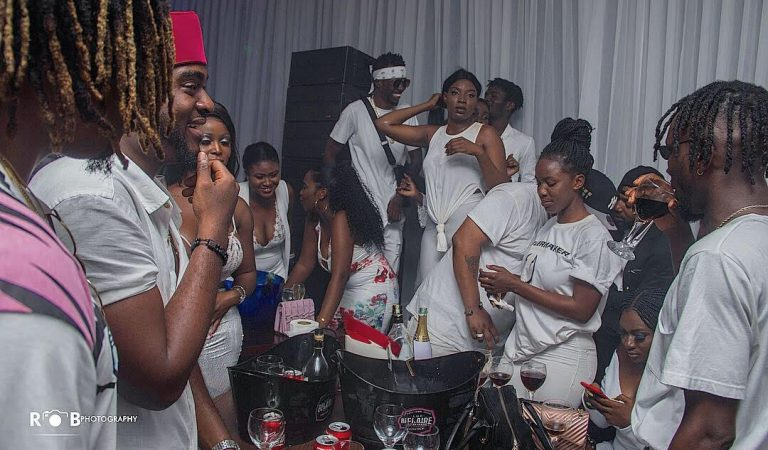 Images from DJ Mensah's All White Party