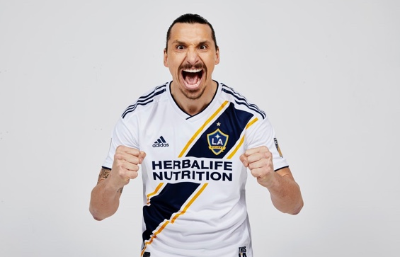 Check out Zlatan Ibrahimovic in LA Galaxy Jersey – Muse Africa abdb97acc