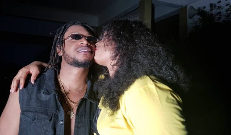 BUSTED: Nigerian Musician Lloys Kayana in cozy love affair with TV host Barikisu of JoyPrime