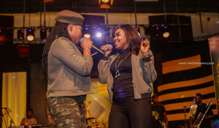 Joyce Blessing  Lights  Up Stage at 'Music Music'