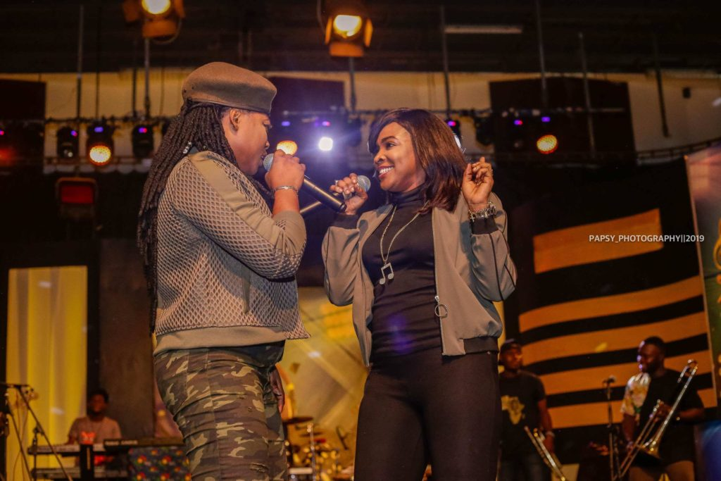 Joyce Blessing Lights Up Stage at 'Music Music' - Muse Africa