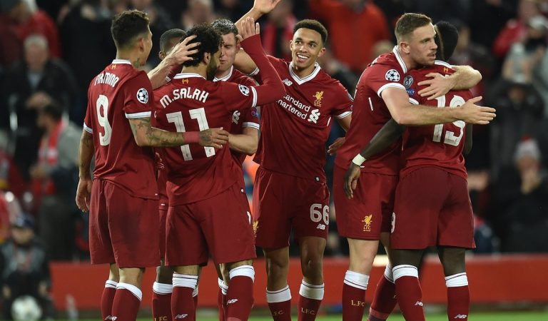 Salah stars as Liverpool rout Roma 5 – 2 at Anfield