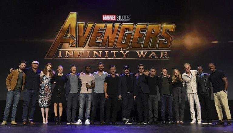 Are you ready for Marvel Studio's  Avengers: Infinity Wars ?