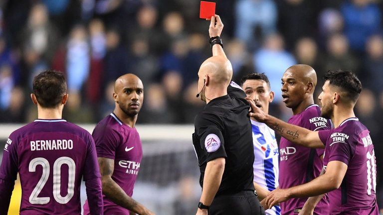 Wigan stuns Manchester City in FA Cup fifth round
